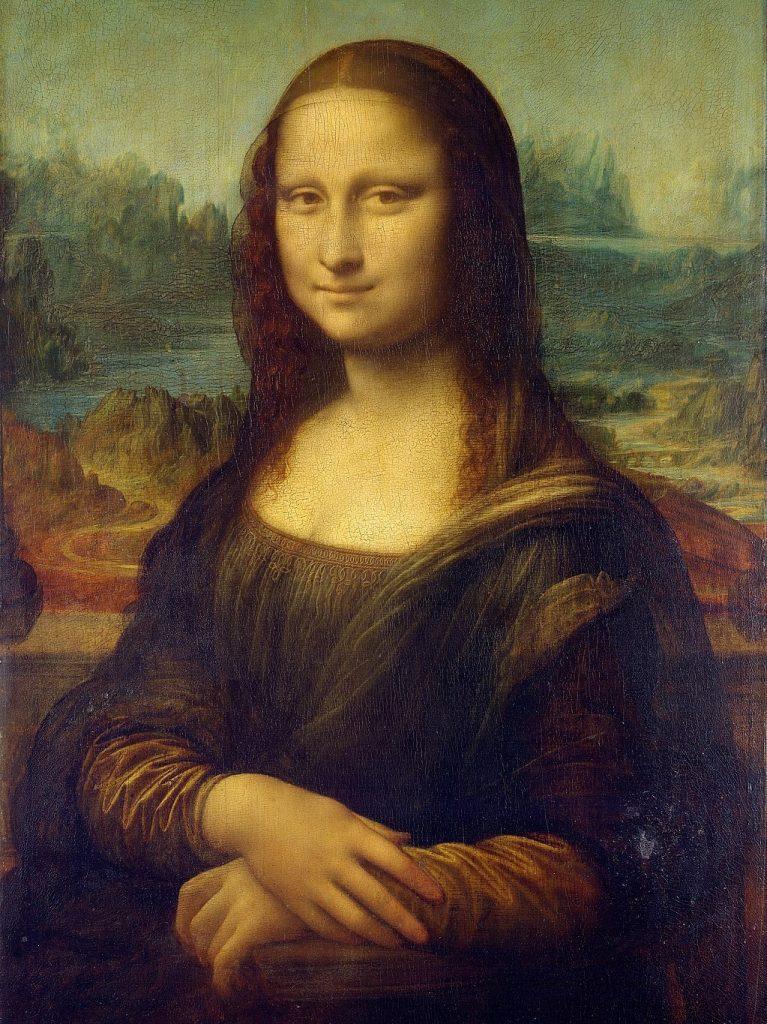The Mona Lisa sits at a 45 degree angle - the Universally Flattering Angle.